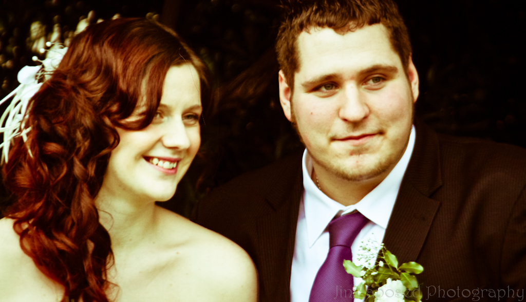 A& adn Sophie - Just Married